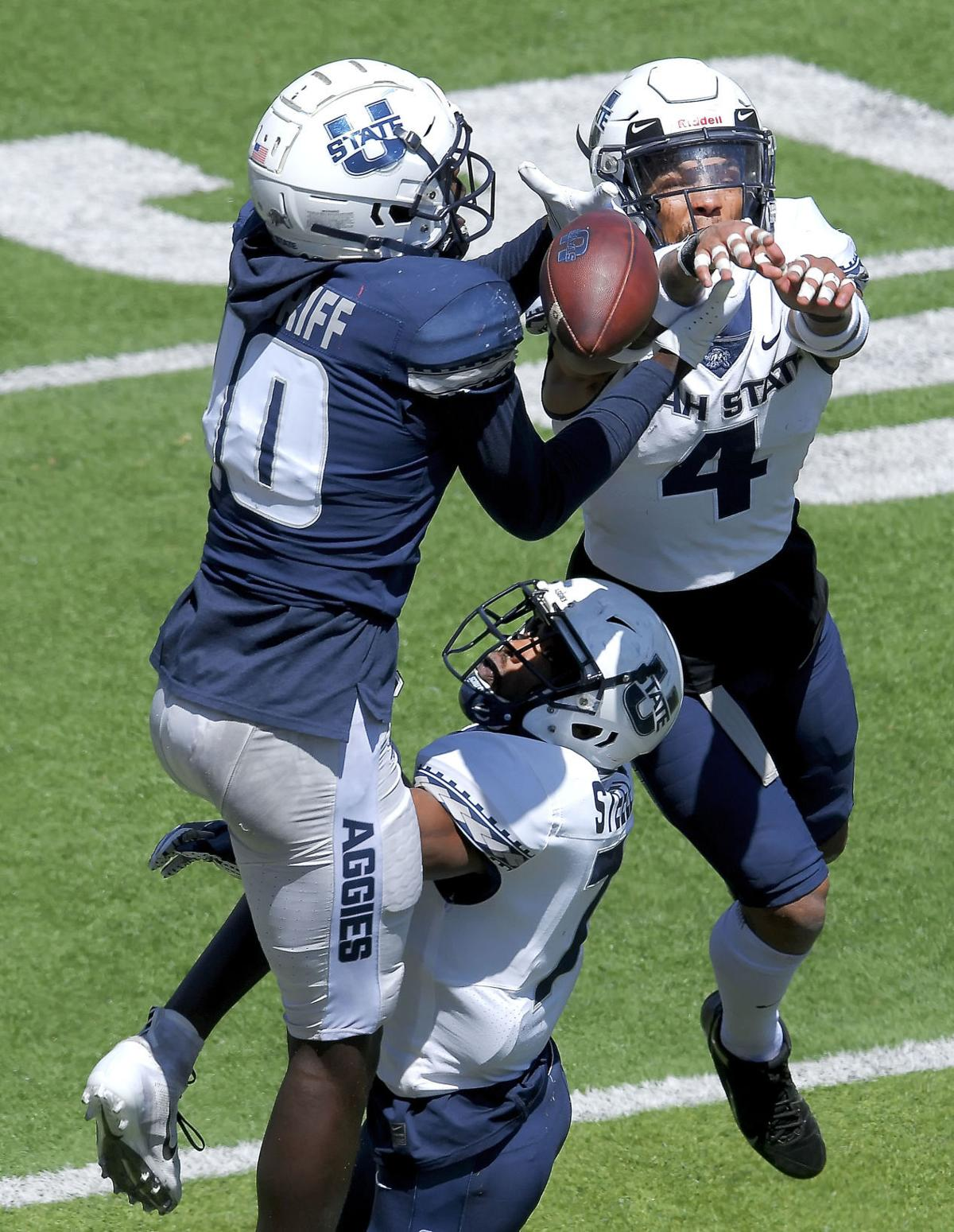 Blue-White Football Scrimmage SECONDARY
