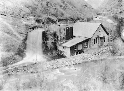 Logan Canyon power plant
