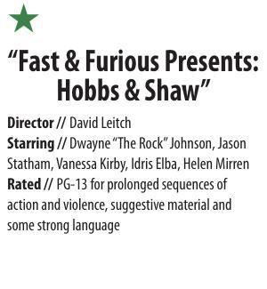 Movie Box: Hobbs and Shaw