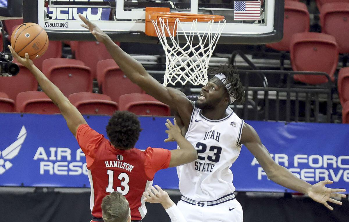 MWC UNLV Utah St Basketball queta