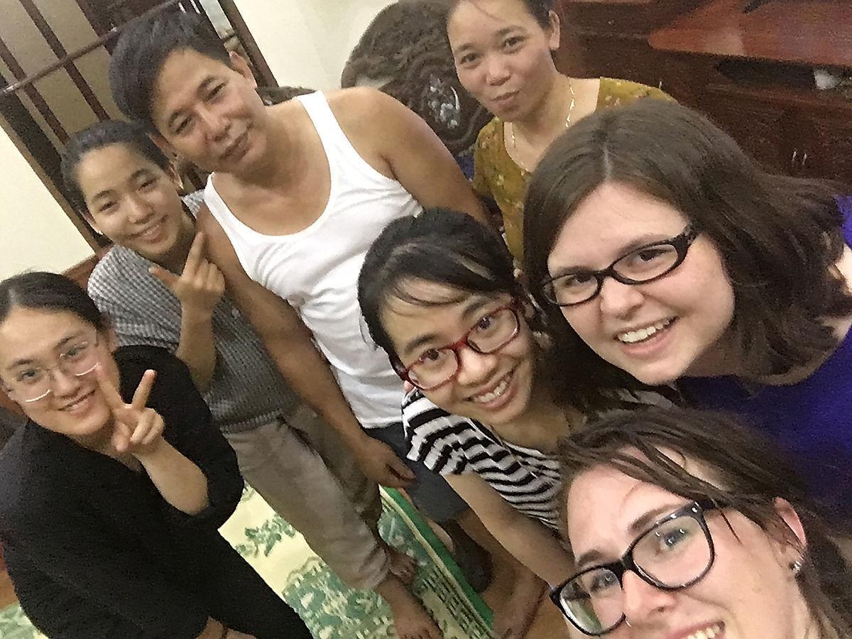 Vietnam friends