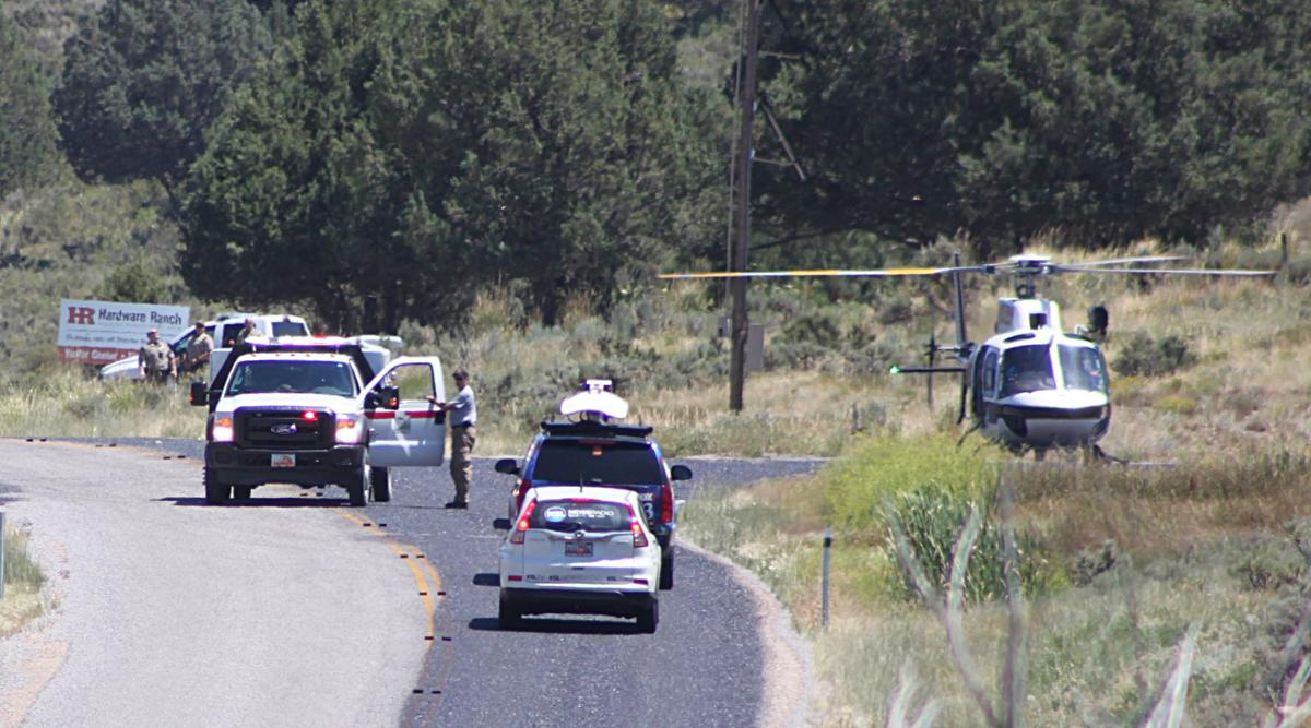 Pilot apparently in stable condition after plane crash Thursday morning near Hardware Ranch