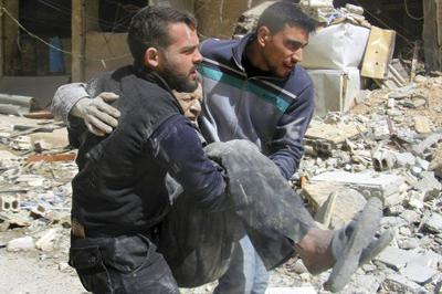 Rocket attack on Syrian capital kills 35 people