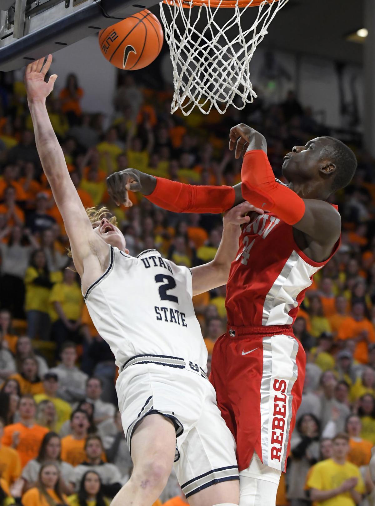UNLV Utah St Basketball