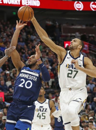 Timberwolves Jazz Basketball (copy)