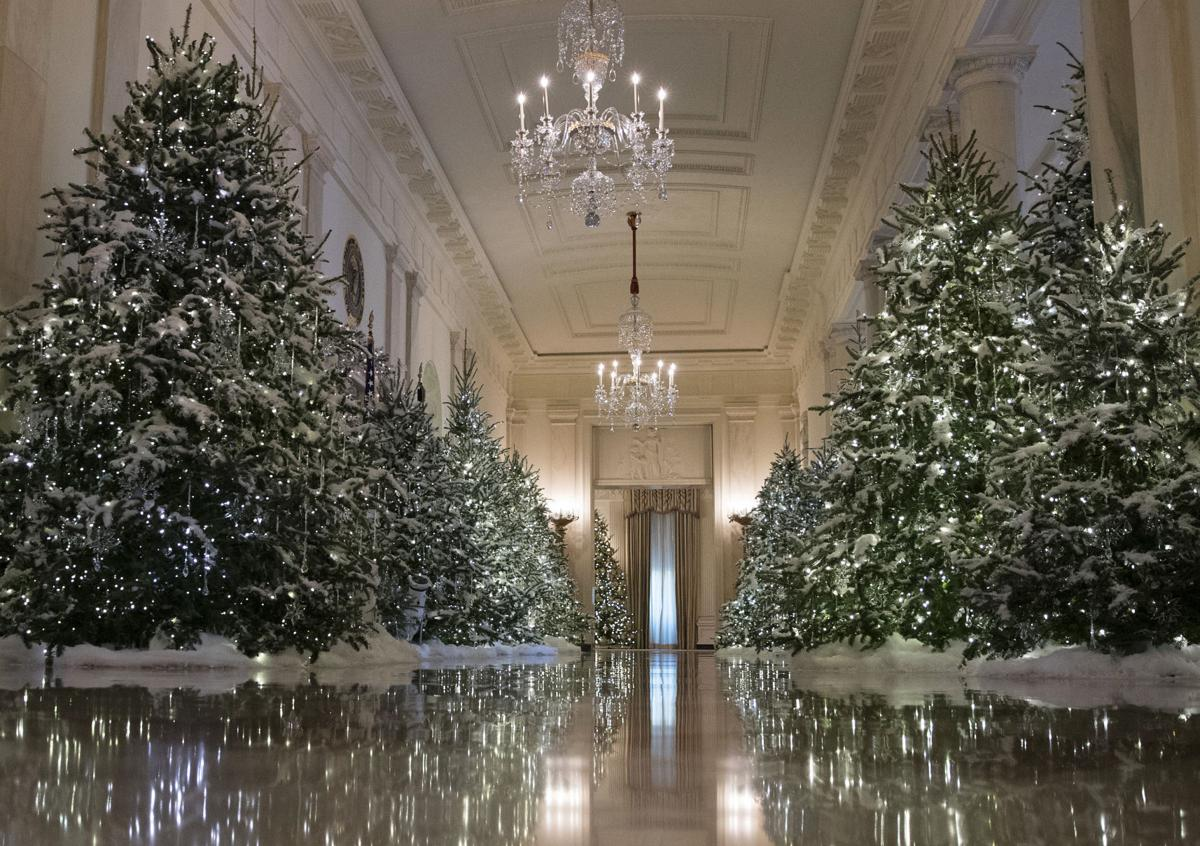 Trumps White House Christmas Decorations >> Cache Valley Native Son Of Former Logan Mayor Did White House