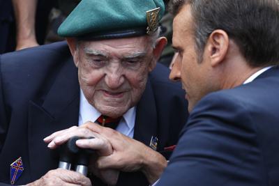 APTOPIX France D-Day Anniversary