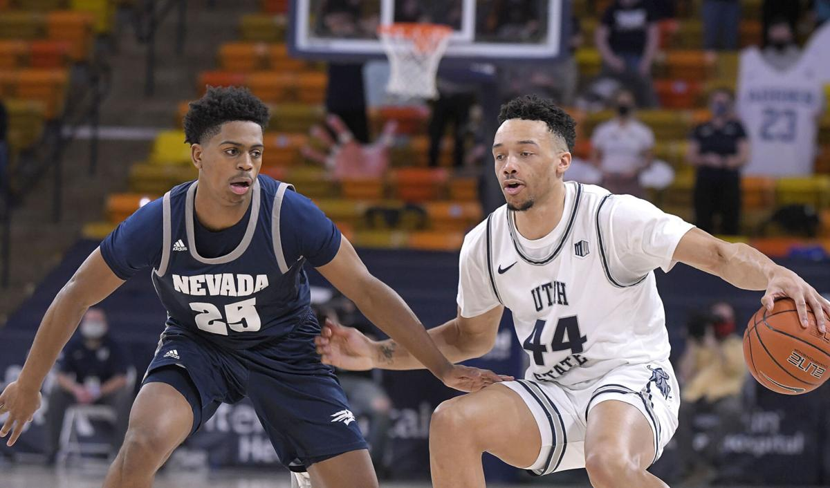 USU basketball player Marco Anthony enters transfer portal