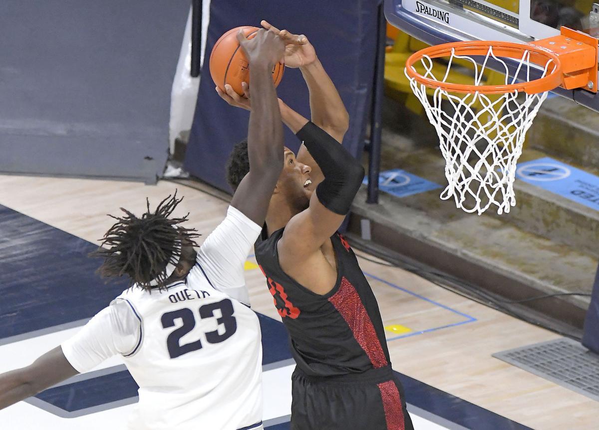 San Diego St Utah St Basketball QUETA