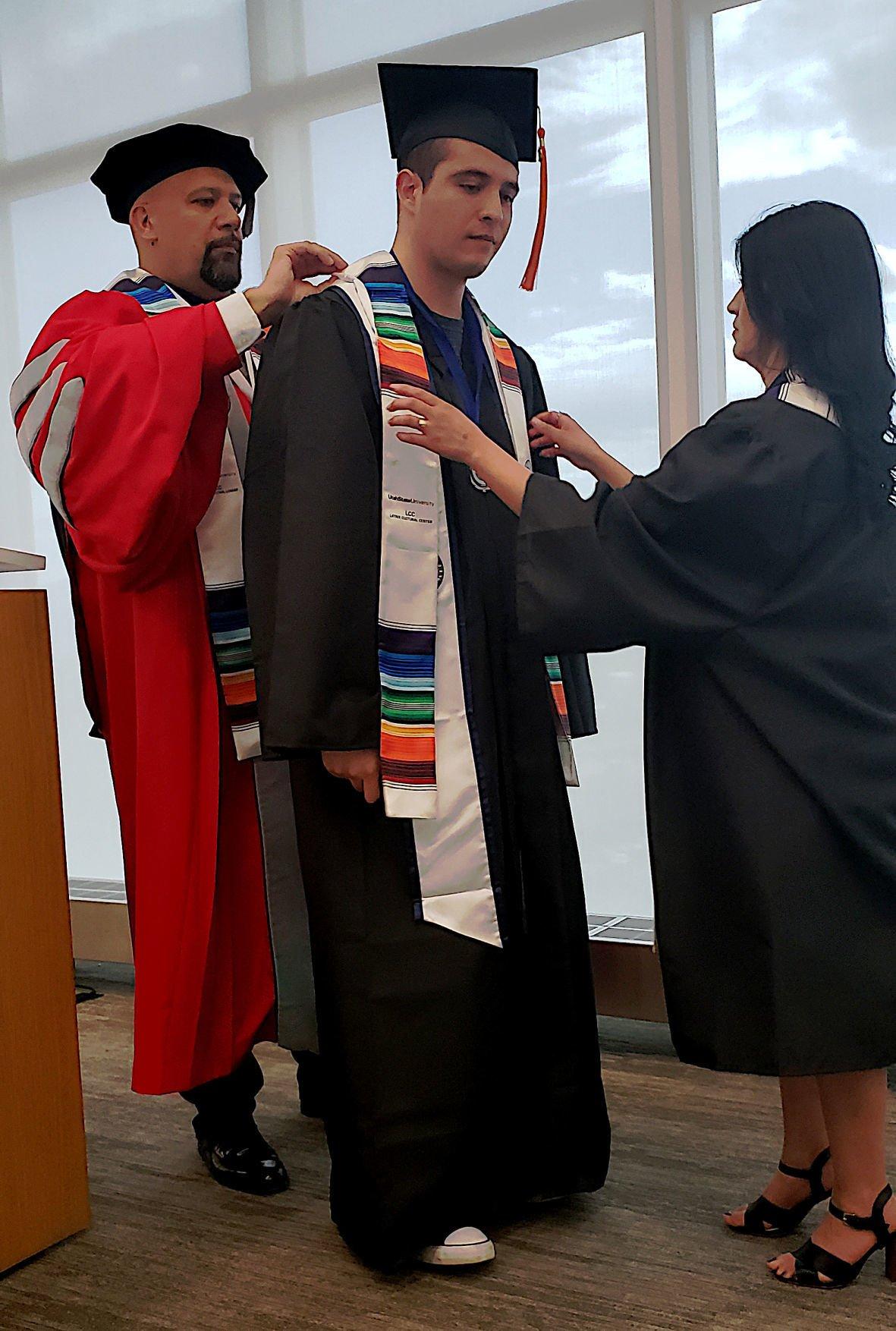 Latinx graduation ceremony