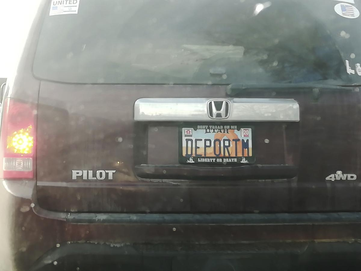 license plate SECONDARY