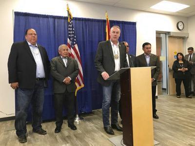 Zinke tells tribal leaders in Arizona he'll fight opioids