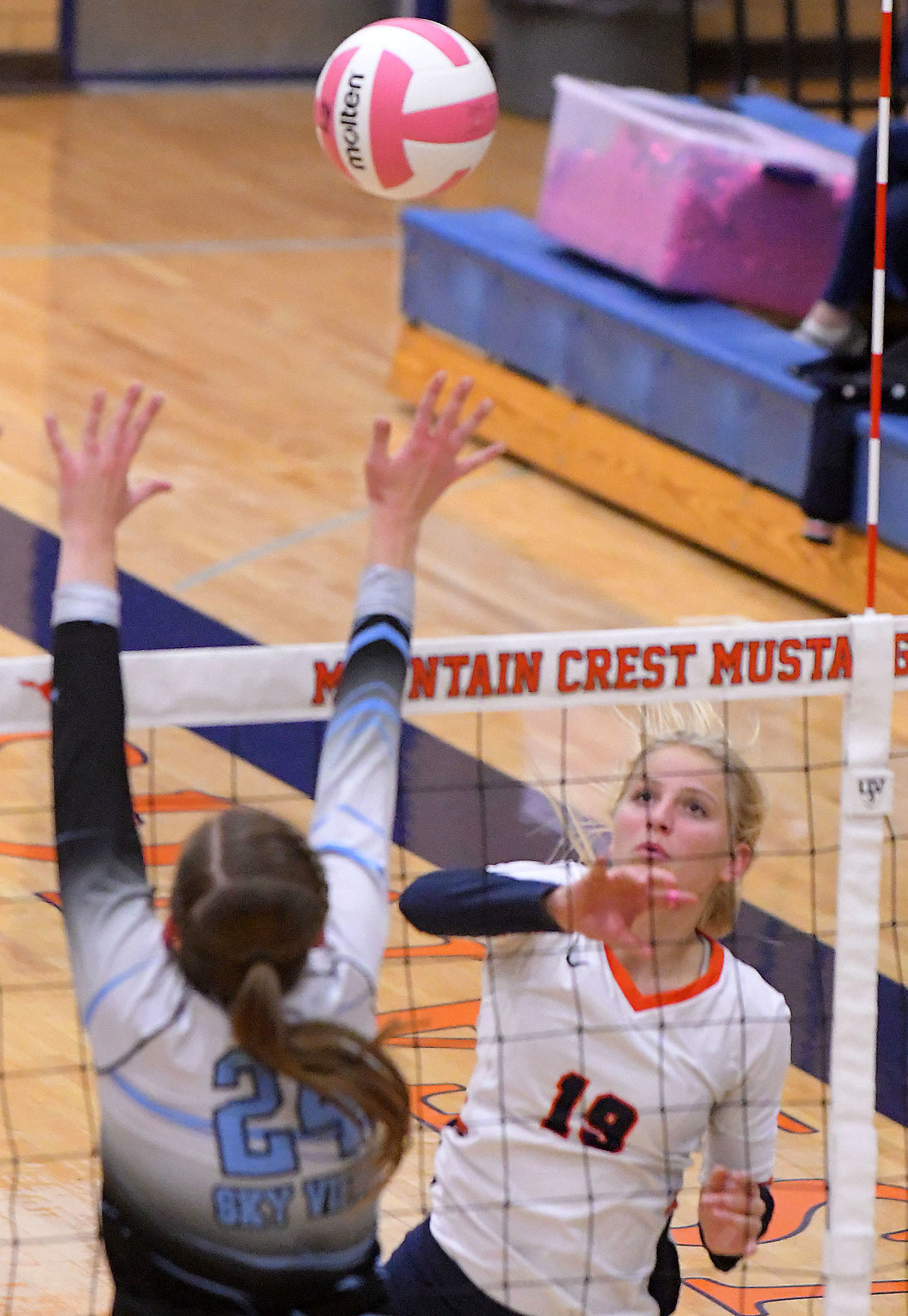 Mountain Crest Sky View Volleyball