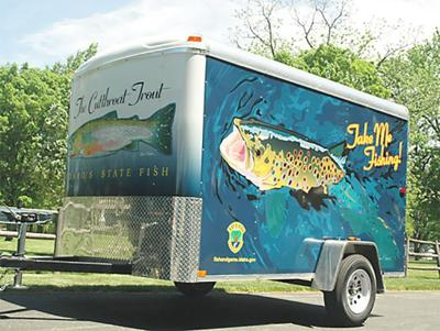 Free fishing trailer