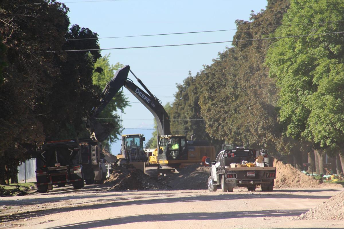 Summer road works continues