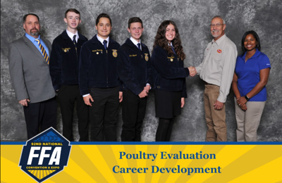 FFA Poultry contest