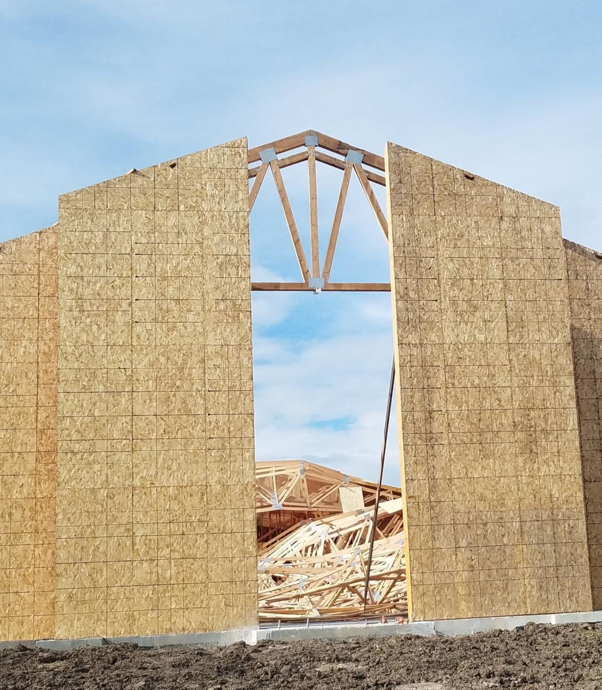 Church construction MAIN ON A3
