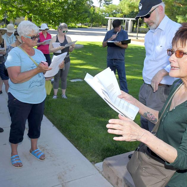 Rocking and walking with Star: Logan poet hosts last walkabout at USU