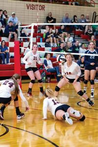 Spikers fall to Ridgeline and Mountain Crest