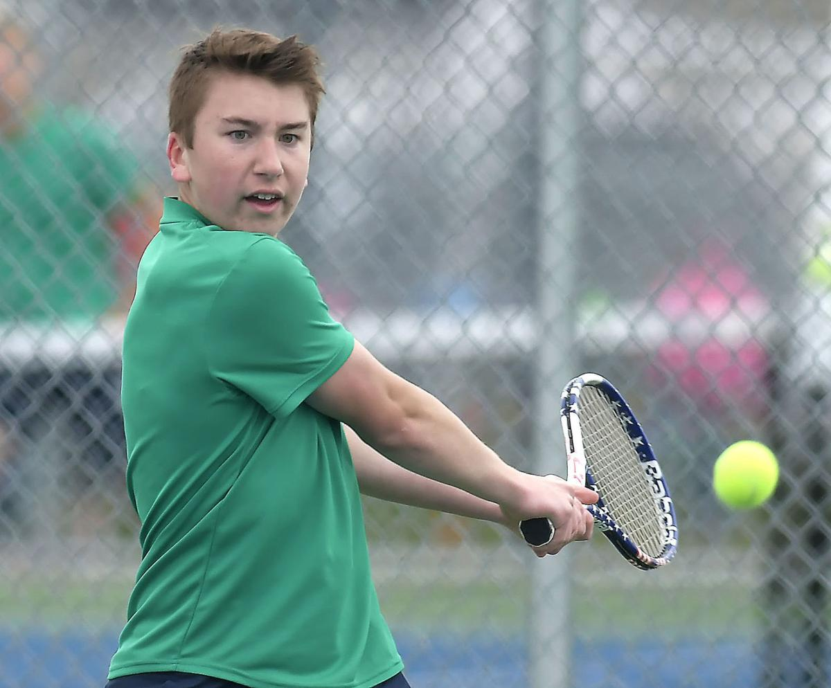 Region boys tennis race could have been tight