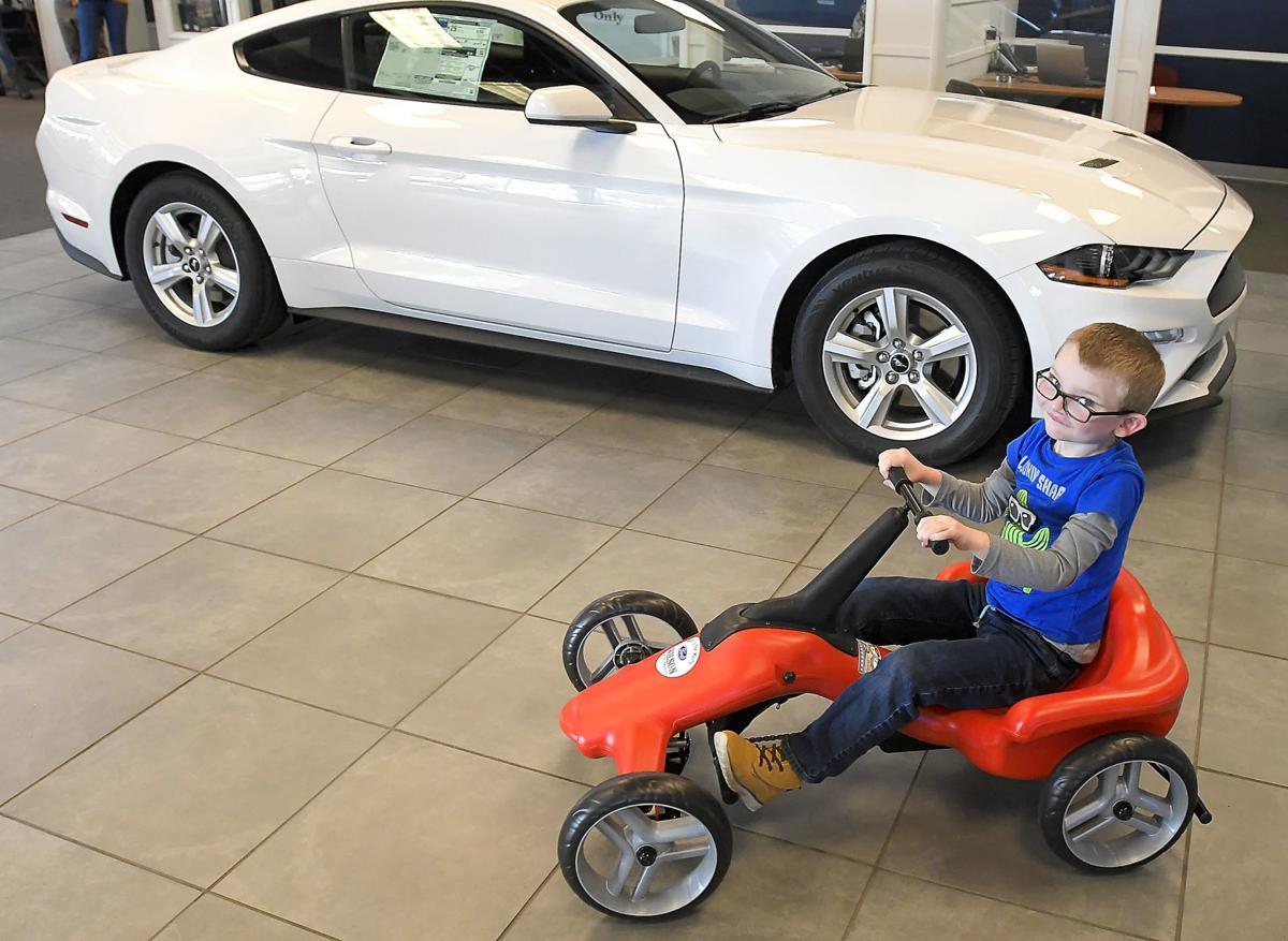 Car Dealerships In Logan Utah >> Auto Dealership Donation Starts Pumper Car Fleet In Logan