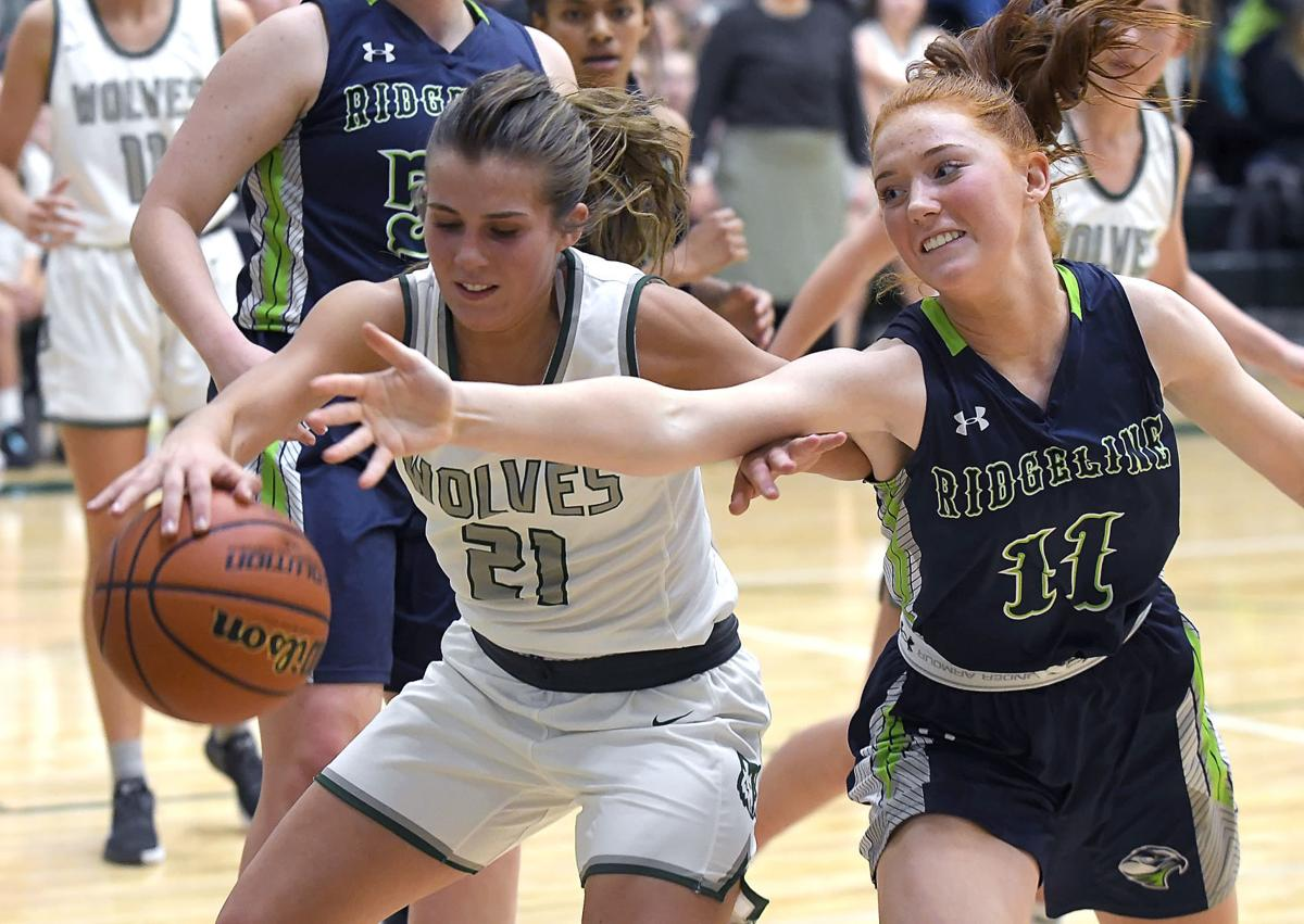 Green Canyon Ridgeline Basketball