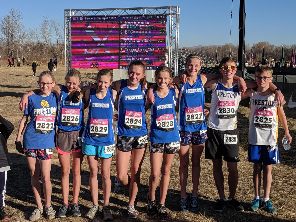 Preston harriers add another title