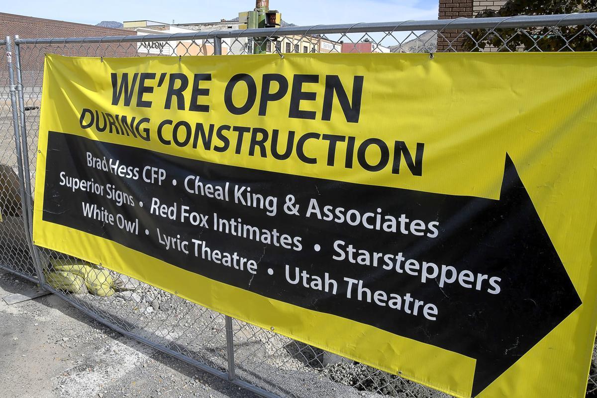 Center Street construction SECONDARY