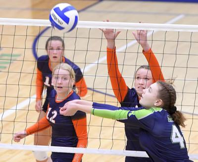 ridgeline mountain crest volleyball