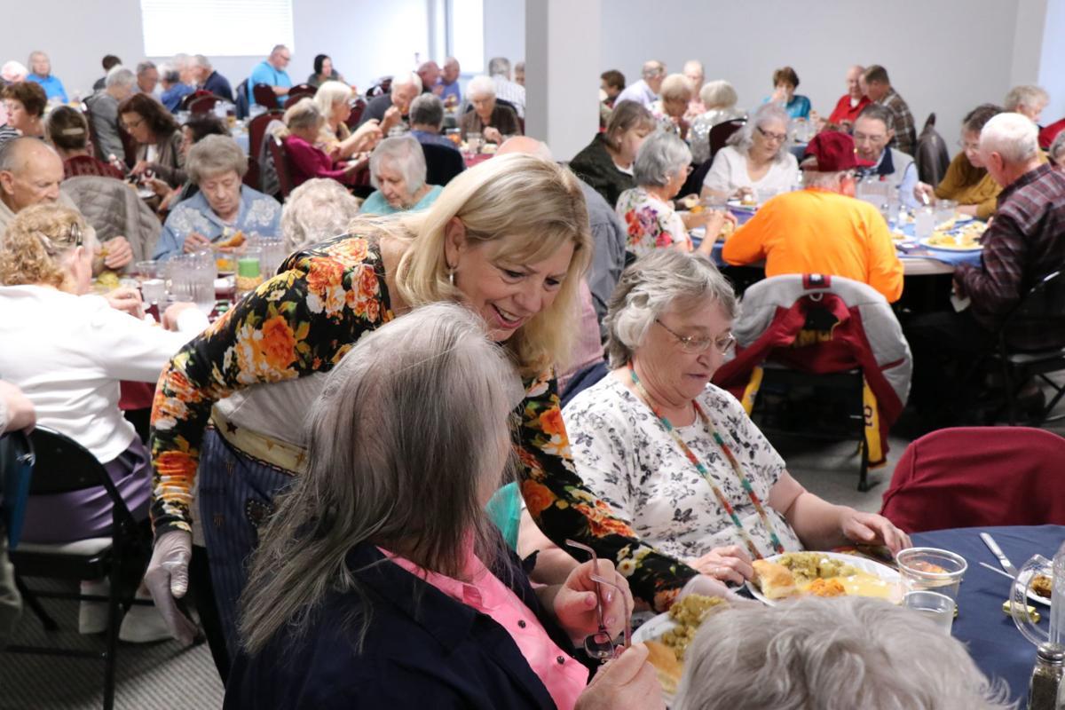 Senior center thanksgiving 1