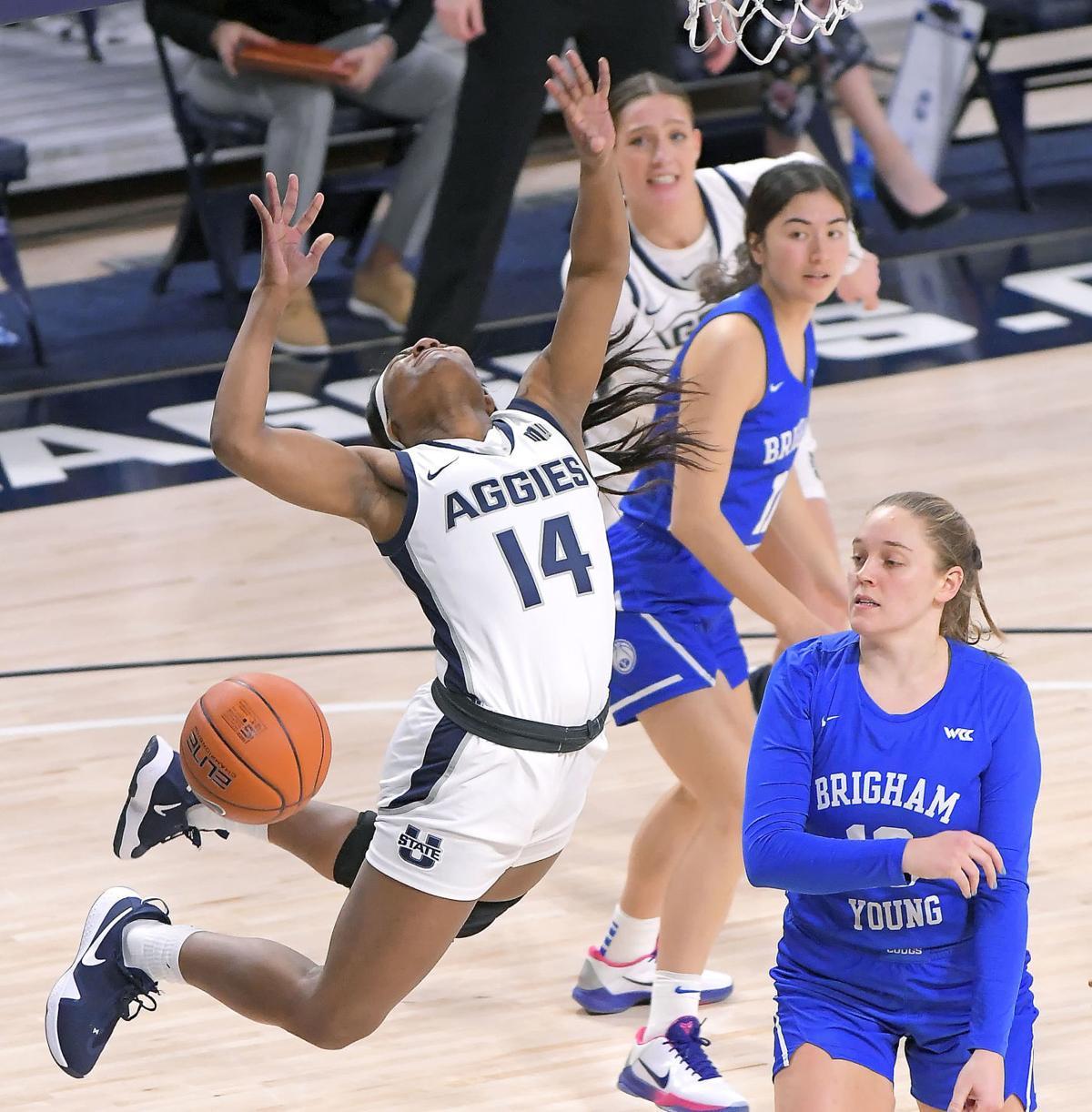 Utah State BYU womens Basketball SECONDARY