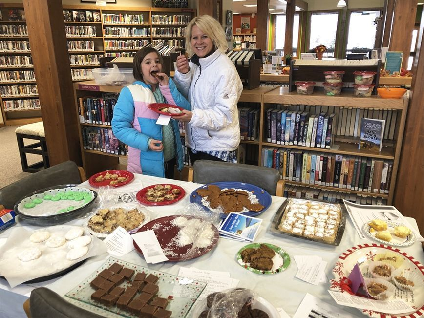Cokeville Library holds Cookie Exchange