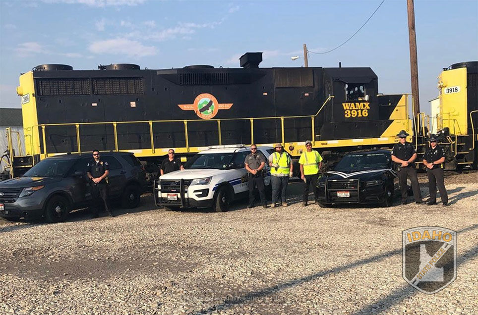 Trains and Officers