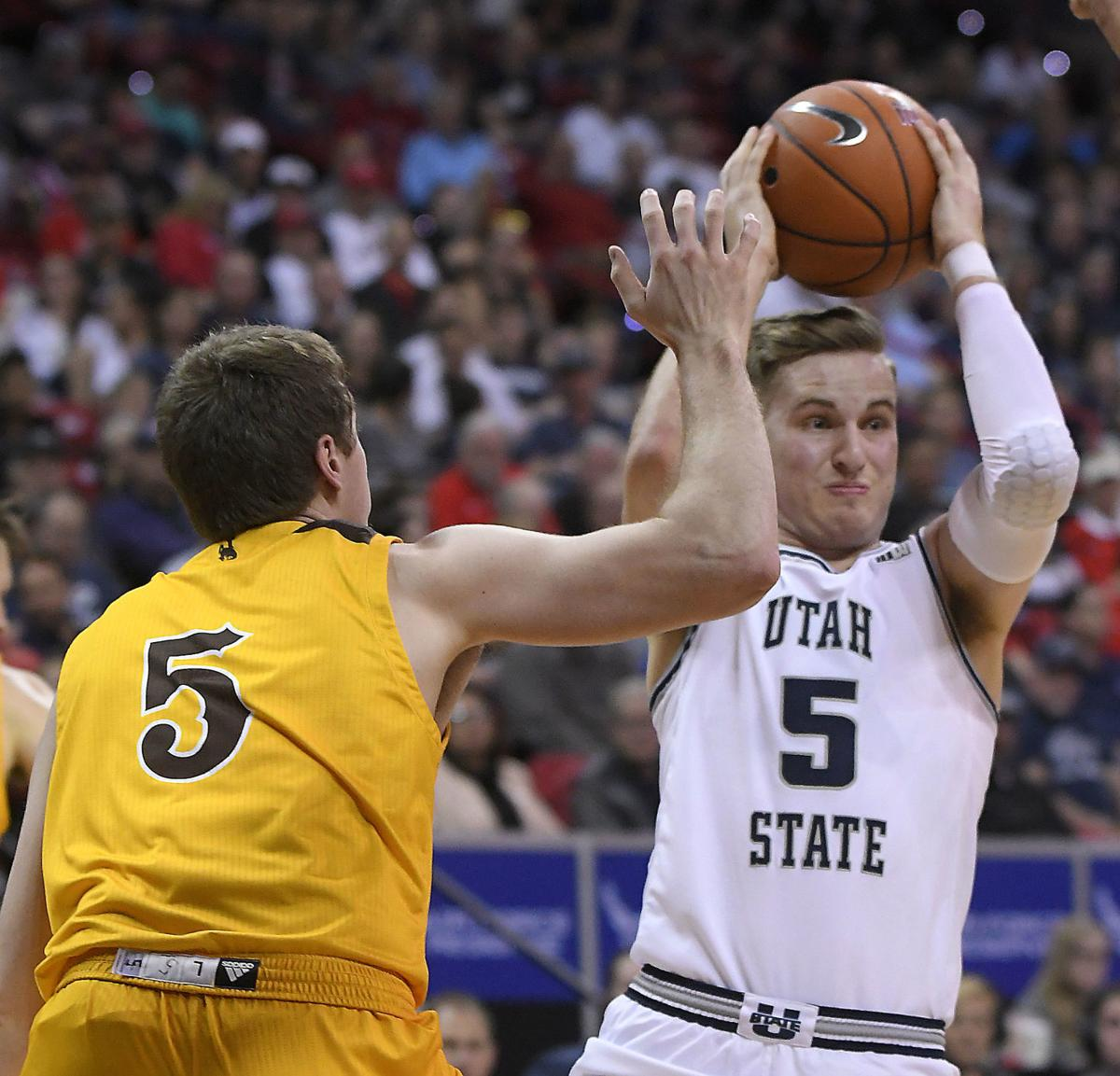 Utah St Wyoming Basketball