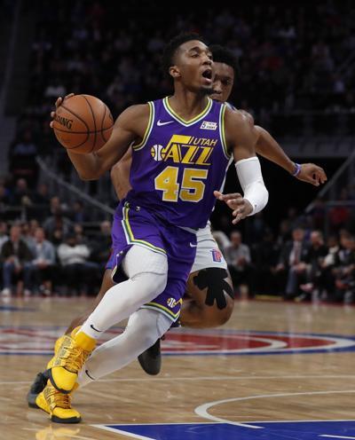Jazz Pistons Basketball