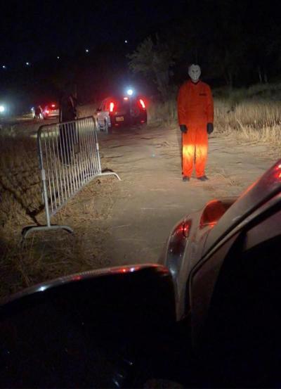 Drive-in haunt