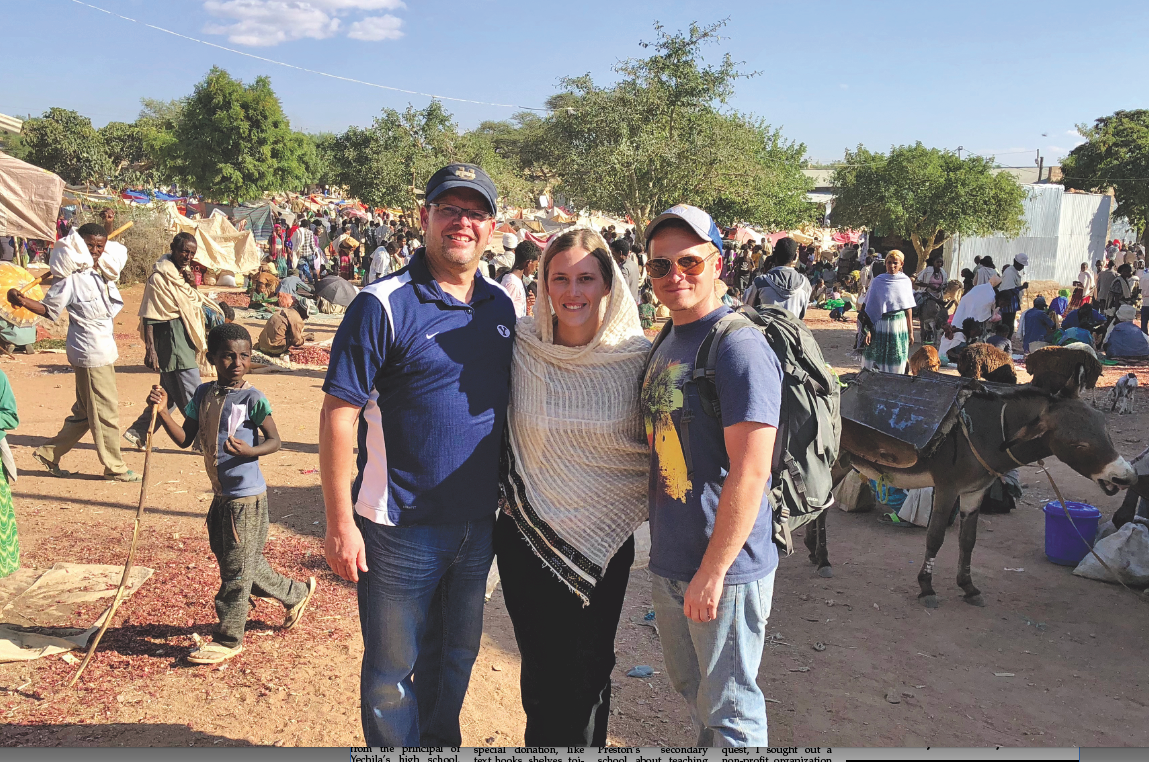 ■ Out of Ethiopia: Westerberg returns with family to serve Yechila