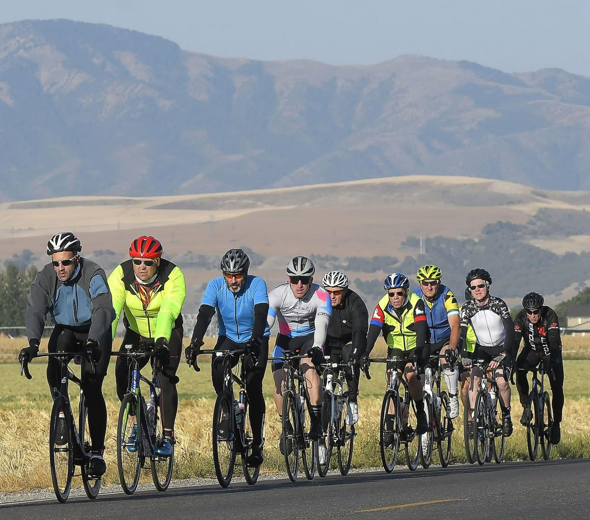 Local cyclists fare well at LoToJa