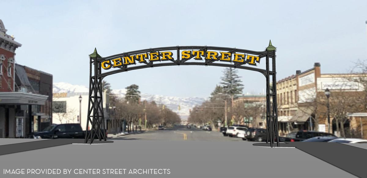 Center Street arch