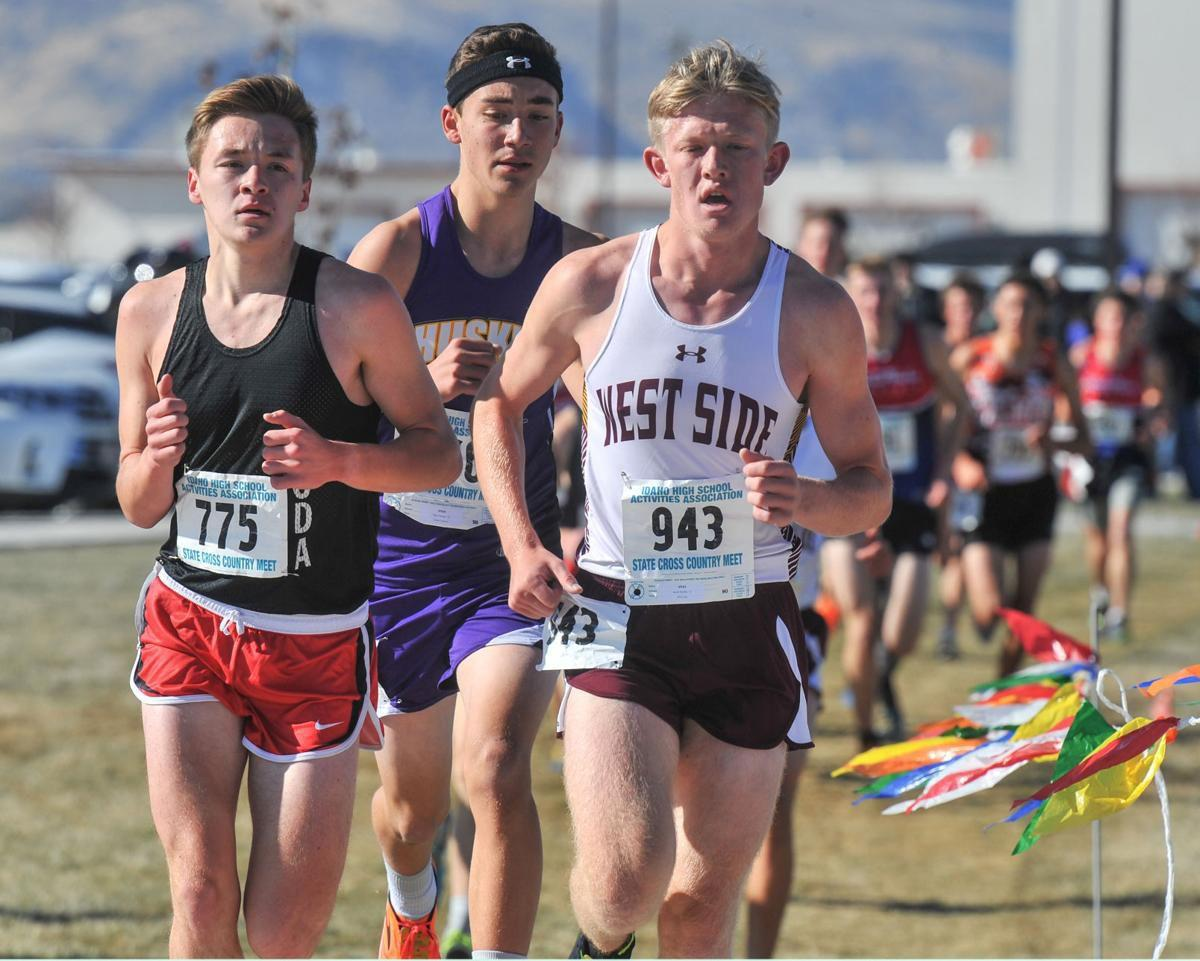 Moffat leads West Side boys to fourth place finish