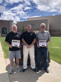 Coach Briant Teichert and Coach Bill Thompson recognized as Coaches of the year