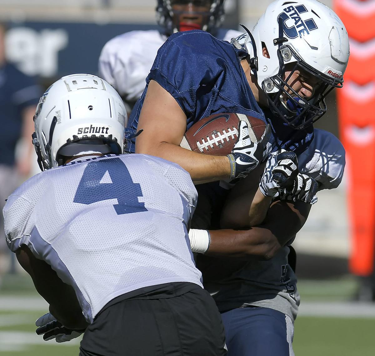 USU's Bond shines during Saturday's situational scrimmage