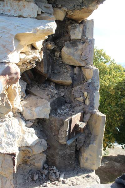 Rock repair continues at OSA