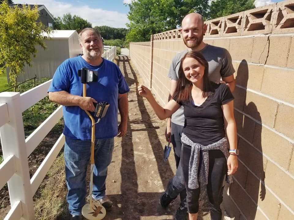 Metal detector hobbyist helps woman recover heirloom necklace on Logan River Trail