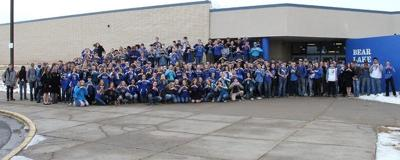 BLHS shows support for schoolmate and friend by wearing blue