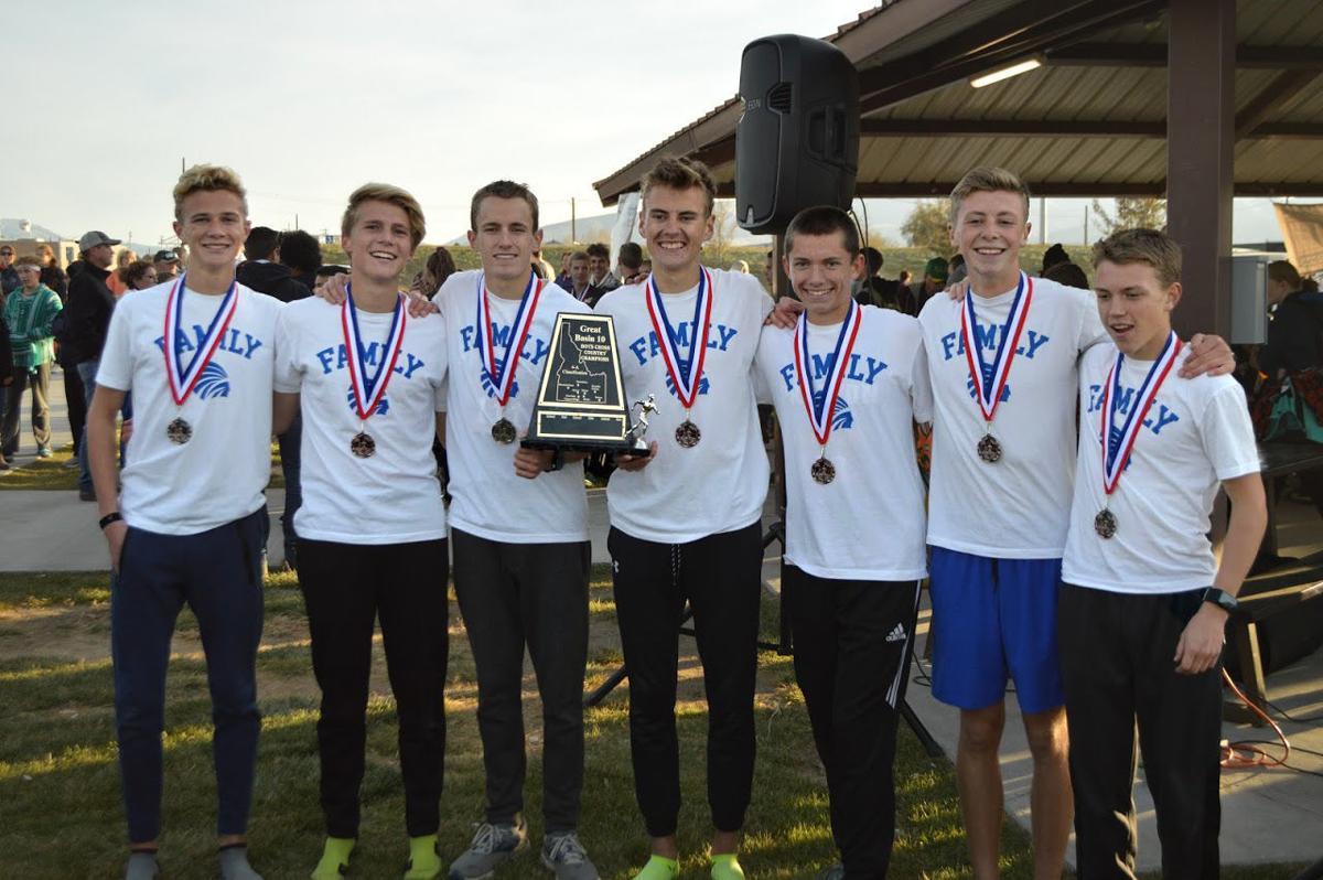 PHS XC boys win district title