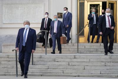 APTOPIX Trump Virus Outbreak