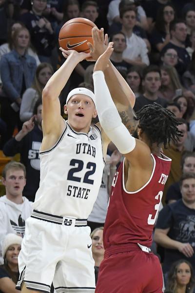 Denver Utah St Basketball