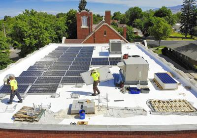 Caring for the Earth': Local congregation installs solar panels on
