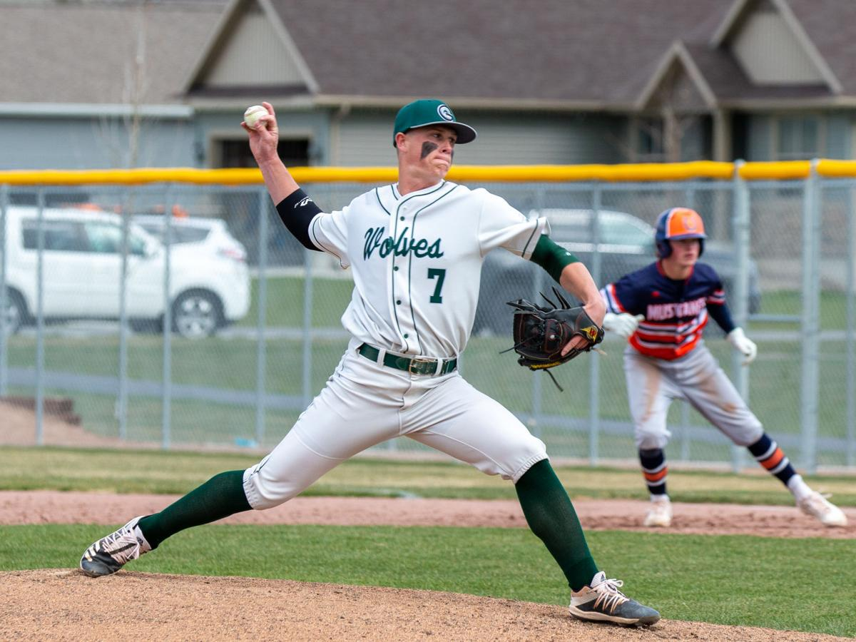 Wolves hand Mustangs first region baseball loss